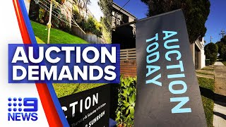 Auctions demands grow across Sydney property market | 9 News Australia