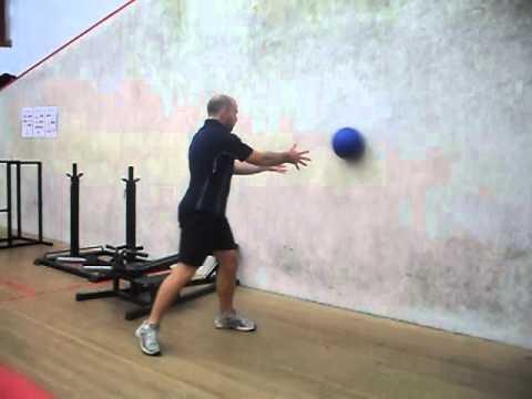 Med Ball Side Throw Rotation