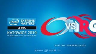 compLexity vs RNG - IEM Season XIII - Katowice Major 2019 - map1 - de_nuke [TheCraggy]
