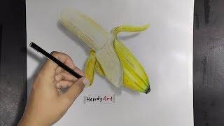 Cara Mewarnai Gambar 3d Dengan Pensil Warna मफत