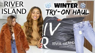 HUGE WINTER TRY ON HAUL FEAT. RIVER ISLAND | SHERLINA NYM