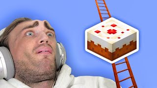 I Built A Cake Ladder in Minecraft to prove god is real - Part 36