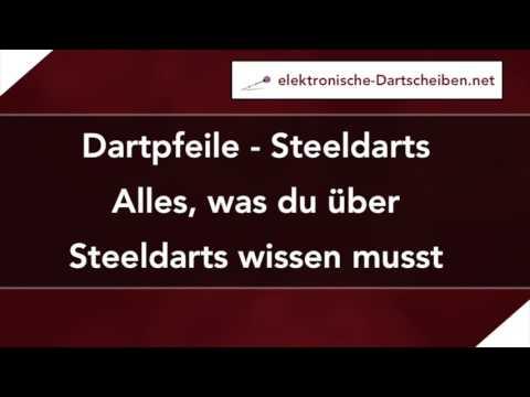 Steeldarts - Alles, was du über die Dartpfeile wissen musst