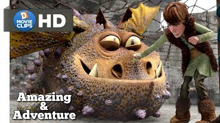 How To Train Your Dragon Hindi Dragon Control Tips Amazing & Adventure Scene MovieClips