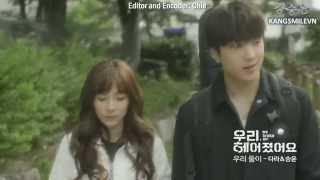 [Kara+Hangul] [Engsub/Vietsub] We broke up Preview 1 - Two of us - Sandara Park, Kang Seungyoon