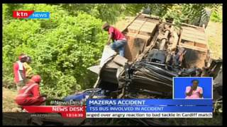 News Desk: Rescue operations ceased in Lamu after TSS Express bus crushes killing four, 16/12/16