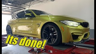 Rebuilding My Wrecked BMW M4 Part 7 Its Done