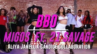 BBO | Migos Ft. 21 Savage | Aliya Janell X Candice Collaboration | Queens N Lettos LA