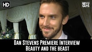 Dan Stevens Premiere Interview - Beauty and the Beast