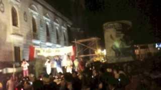 preview picture of video 'Año Viejo en Baños de Agua Santa, 2013-2014 (Old Year/New Year's 2014)'