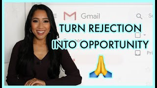 How to Respond to a REJECTION Email | Internship & Job Search Tip