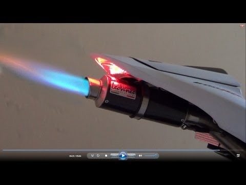 Honda CBR600RR 2012, Full Rpm, Exhaust Flames Fire (istimewa)