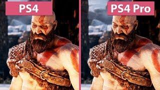 [4K] God of War – PS4 vs. PS4 Pro Frame Rate Test & Graphics Comparison