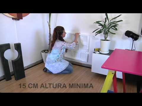 Panel calefactor de bajo consumo