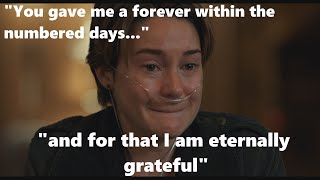 HAZEL GRACE READS GUS EULOGY FAULT IN OUR STARS ULTRA HD SHEILENE WOODLEY AUGUSTUS DEATH FROM CANCER