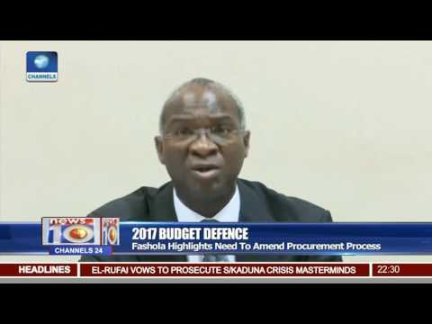 Fashola Highlights Need To Amend Procurement Process