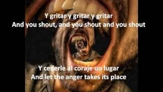 Luis Fonsi - Gritar - Karaoke - Spanish - English