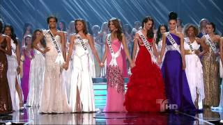 Miss Universo 2009 crowning moment