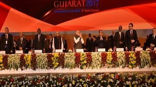 In Graphics Vibrant Gujarat Global Summit 10 Key Points Of PM Modi's Halfhour Speech
