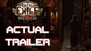 Path of Exile 3.1 - War for the Atlas ACTUAL Trailer