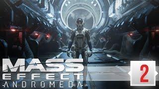 Mass Effect: Andromeda Прохождение (2) - РЕЛИЗ НА ПК, УЛЬТРА ГРАФИКА (МАСС ЭФФЕКТ АНДРОМЕДА СТРИМ)
