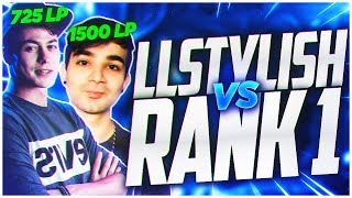 LL STYLISH | BEST ZED NA VS RANK 1 | CHALLENGER 725 LP