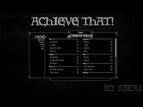 Skyrim Mod - Achieve That!