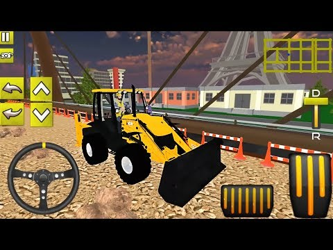 City Road Construction Simulator | Construction Vehicles: Excavator Road Clean | Android GamePlay
