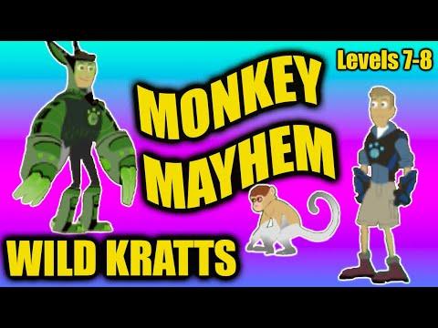 Wild Kratts PBS Kids Games | Wild Kratts Martin and Chris Monkey Mayhem Round 7-8 Wild Kratts Games
