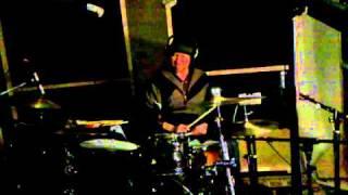 """We Hold a Gun"" original drum track, recorded with Braddigan"
