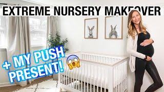 Extreme Nursery Declutter + Organization + I got my Push present early!