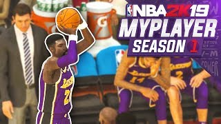 I'M A STARTER!?!?! TBJZLPlays NBA 2K19 MyPlayer