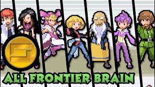 Pokémon Emerald - Every Frontier Brain Battles (Gold Symbol)