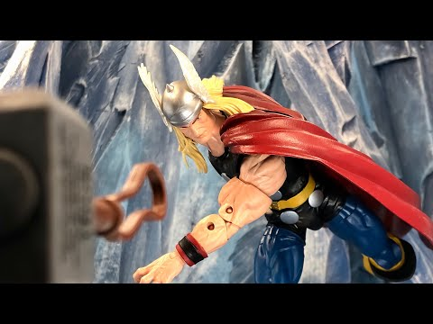 THOR MARVEL LEGENDS 80 YEARS OF MARVEL ACTION FIGURE REVIEW