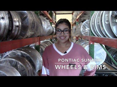 Factory Original Pontiac Sunbird Wheels & Pontiac Sunbird Rims – OriginalWheels.com