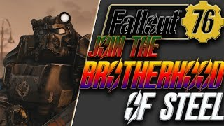 Fallout 76 how to join the brotherhood of steel   start the brotherhood in fallout 76