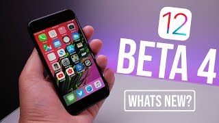 iOS 12 Beta 4 Released - What