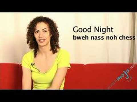 Language Translation Spanish: Good Night