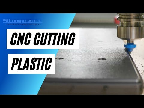 Cutting Plastic on CNC Router Table – ShopSabre CNCvideo thumb