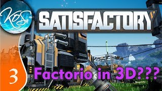 Satisfactory Ep 3: WILD AND BEAUTIFUL ANIMALS - Early Access - Let's Play, Gameplay