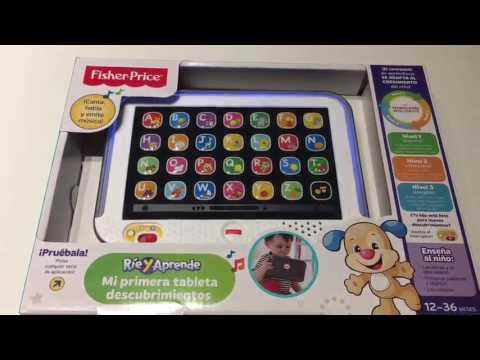Fisher Price   Mi primera tableta, Divrtido y didáctico