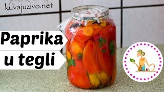 Kisela Paprika U Tegli -  Video Recept
