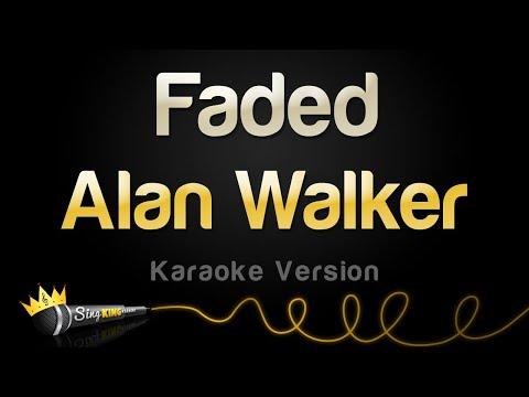 Alan walker   faded  karaoke version