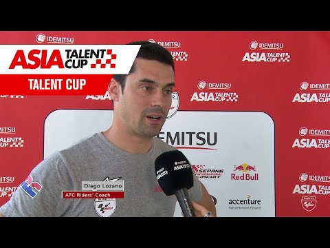 Diego Lozano Race 2 Interview - Round 3: Sepang International Circuit 2019 - IATC