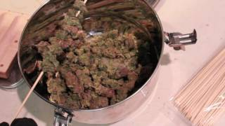 "All Cannabis Cigar Mold- How to  roll all Cannabis ""Cigar"""