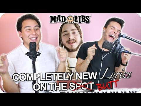"""Post Malone - """"Better Now"""" MadLibs Cover (LIVE ONE-TAKE!)"""
