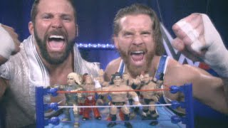 WWE Retro action figures vintage commercial