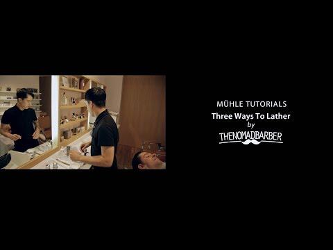 Nomad Barber Shaving Tutorials – how to use a shaving brush