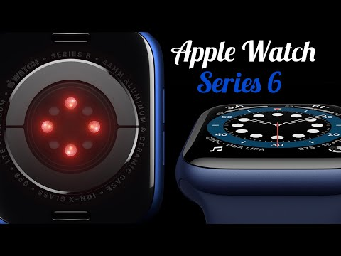 Blue Apple Watch Series 6 (44mm Aluminum Case) Unboxing!