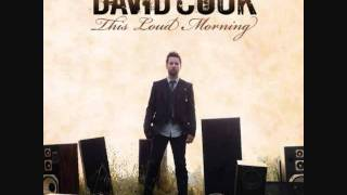 This Is Not The Last Time - David Cook acoustic instrumental